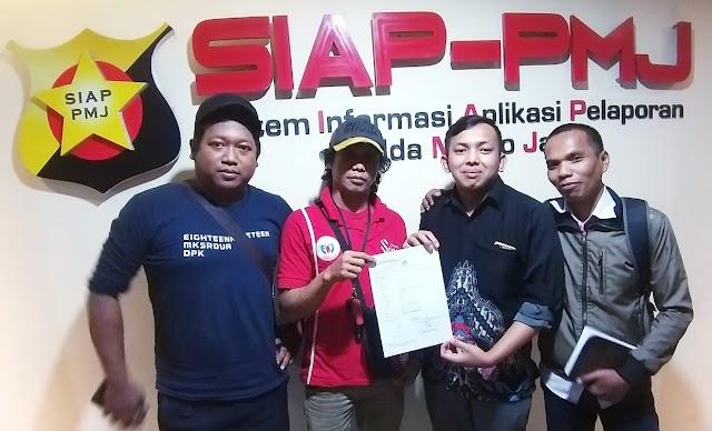 Forum Wartawan Jakarta (FWJ) Resmi Polisikan Oknum U ke Polda Metro Jaya