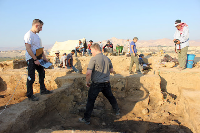 Excavations at ancient sanctuary in Jordan Valley offer glimpse into area's religious past