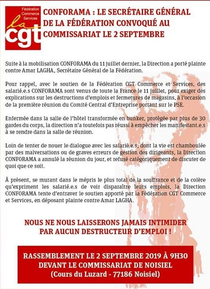Ul Cgt De Coulommiers Et Sa Région Conforama