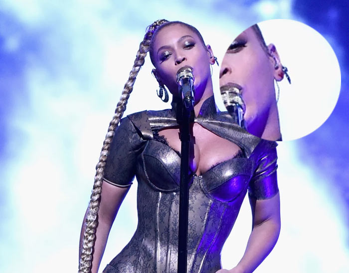 Beyonce accidentally rips ear on stage, fans show support by wounding themselves