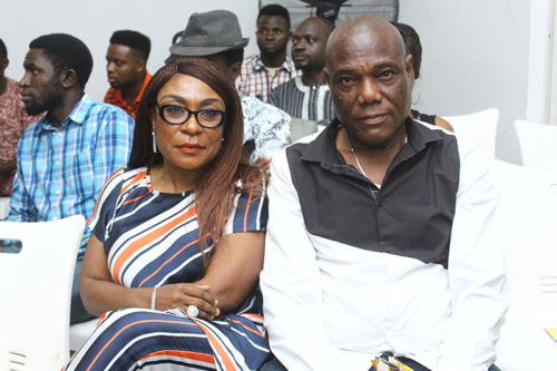 """Watch Precious Moment Burna Boy's Mum & Dad Were Jamming To The """"African Giant Album"""""""