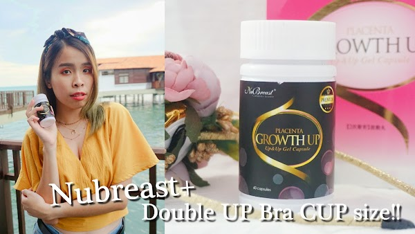[PREMIUM] Nubreast+ Double UP for your Cup Size!!