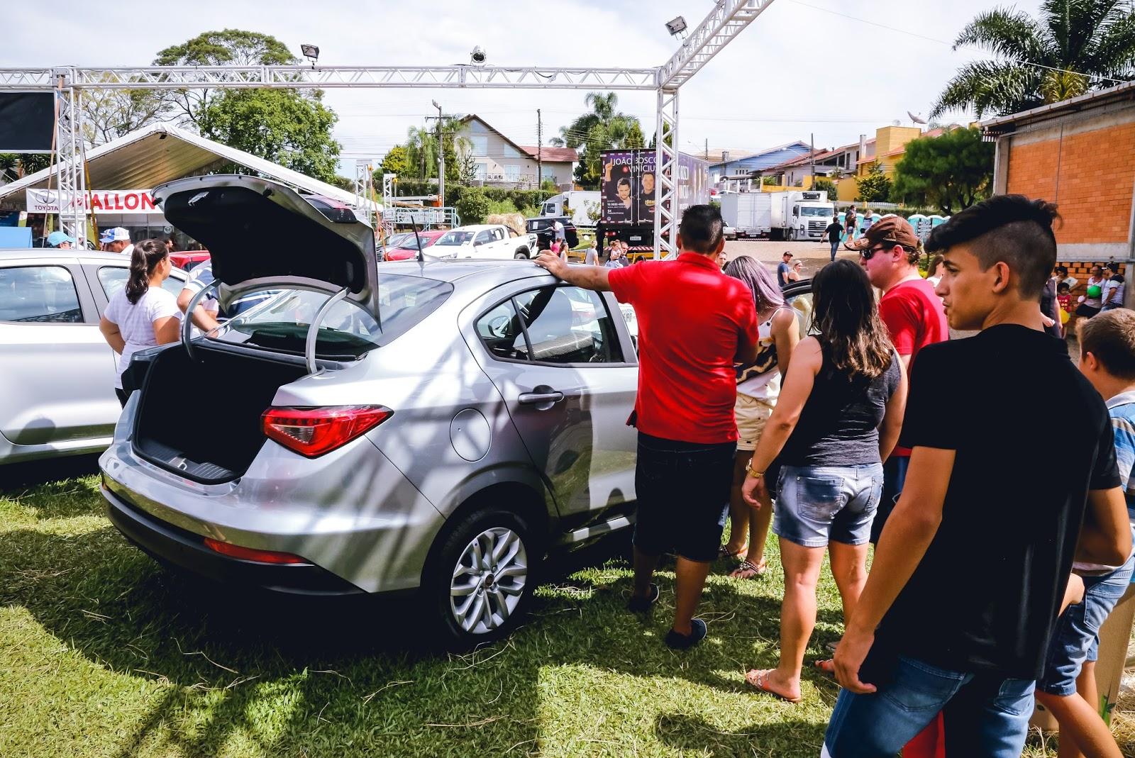 Carboni comercializa mais de 50 produtos na Expo Videira 2018 IMG 5530