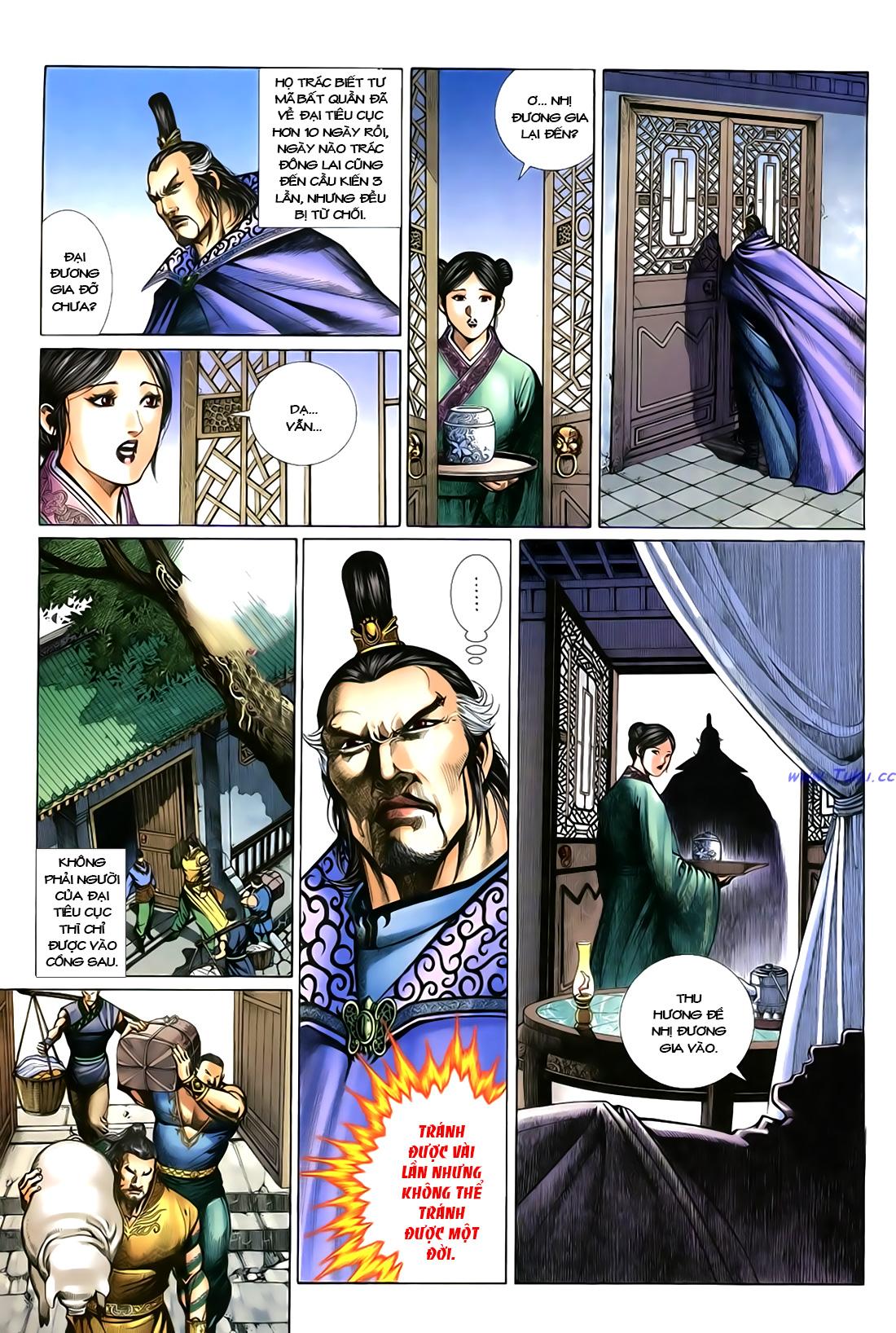 Anh hùng vô lệ Chap 18 trang 26