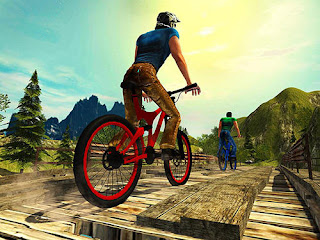 Download Uphill Offroad Bicycle Rider V1.3 MOD Apk