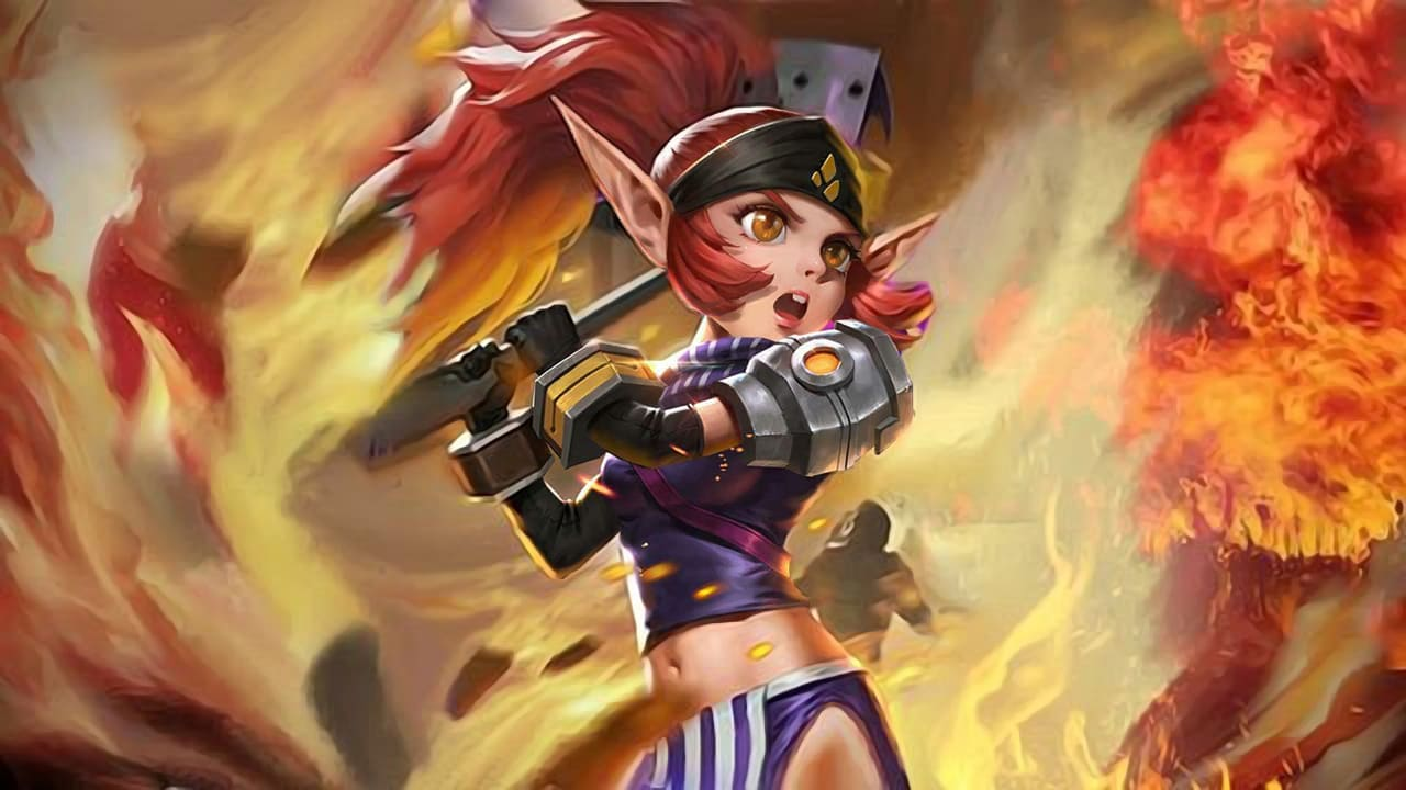 Wallpaper Lolita Soldier in Training Skin Mobile Legends HD for PC