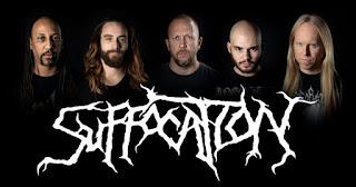Photo des membres de Suffocation