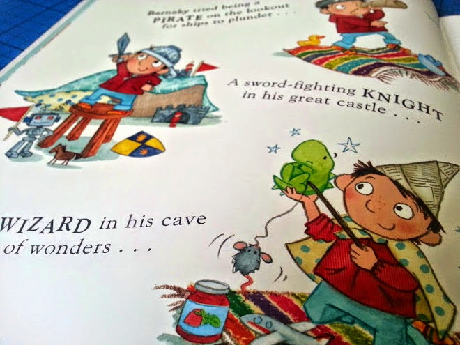 A Monster's Moved In! children's book review clever text and font use