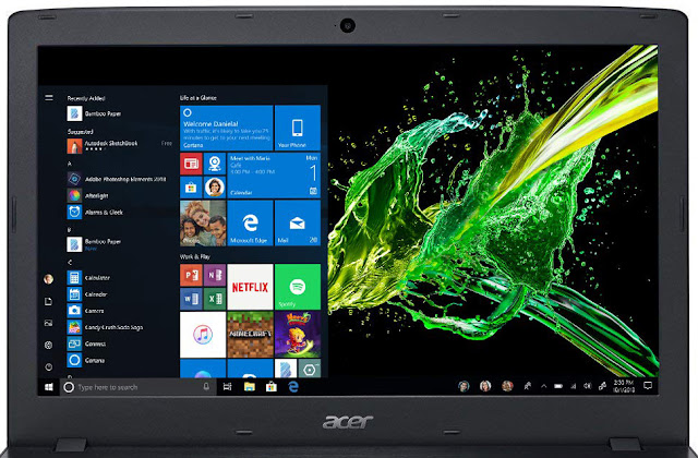 Acer Aspire E15 display review