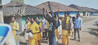 हर हर गंगे कार्यक्रम के तहत जन जागरूकता रैली निकाली गई