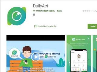 Aplikasi Media Sosial DailyAct