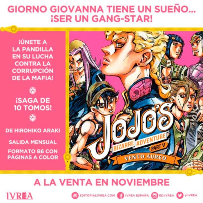 JoJo's Bizarre Adventure: Vento Aureo - Ivrea