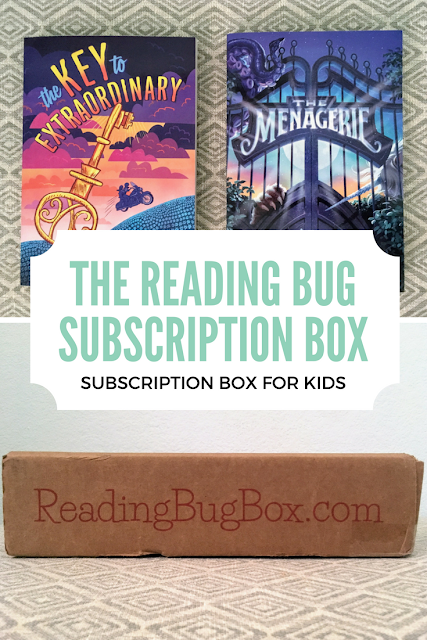 The Reading Bug Box is curated by an indie bookstore and personalized for your kid's interests!