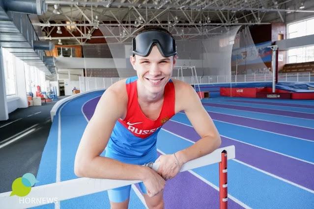 18-летний Александр из Челябинска слепой от рождения, но это не помешало ему кандидатом в мастера спорта!