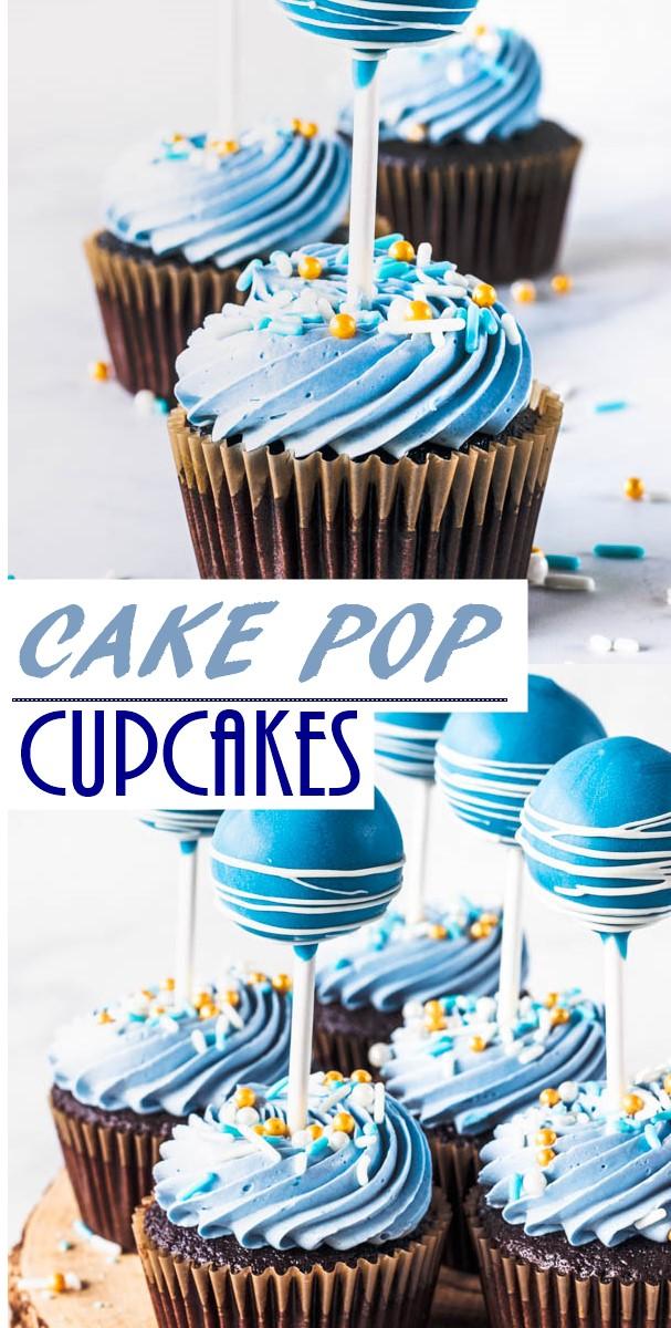 CAKE POP CUPCAKES #cupcakesrecipes