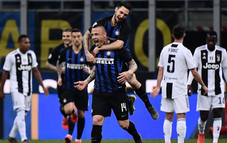INTER JUVENTUS Streaming Diretta TV, dove vederla: 1-0 strepitoso gol Nainggolan 7'.