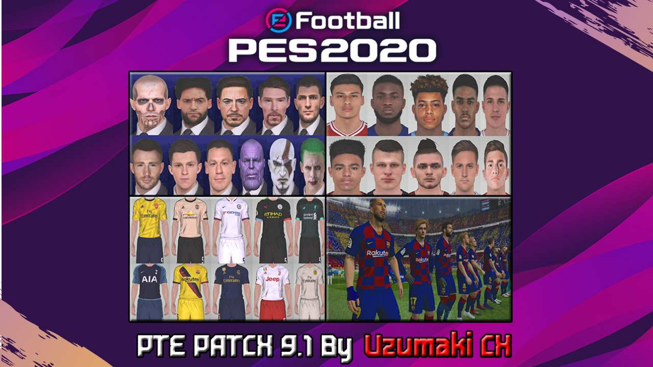 ultigamerz: PES 2017 PTE Patch 9 1 + 9 0 AIO Season 2019-20