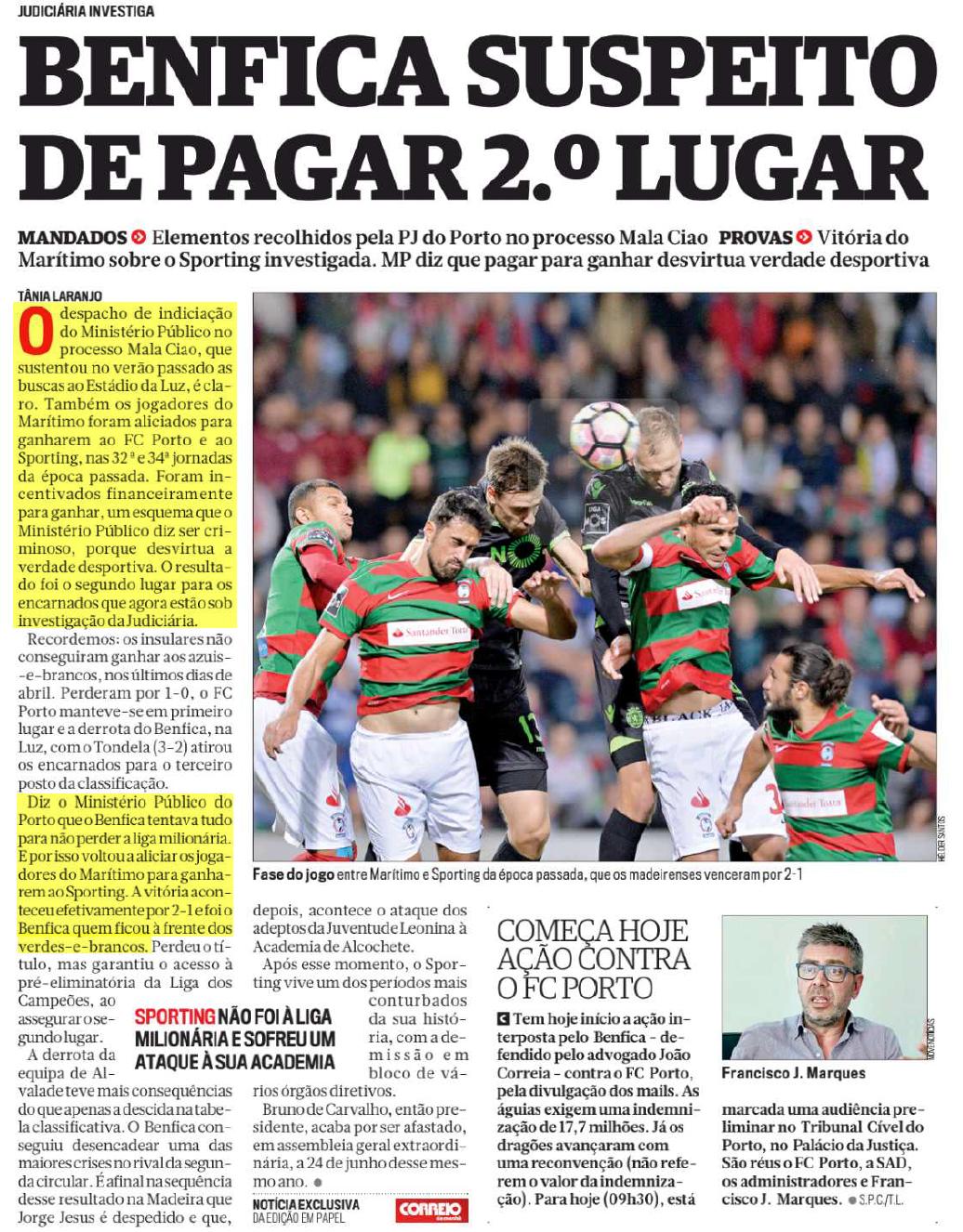 7d2e4884209b8 A realidade é que os jogadores insulares fizeram o jogo das suas vidas  contra o Sporting e conseguiram tirar o Sporting da rota da Champions.