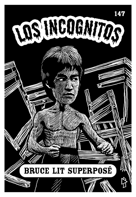 Los Incognitos Gwen Tomahawk Bruce Lee Dragon Graphiste Fontainebleau