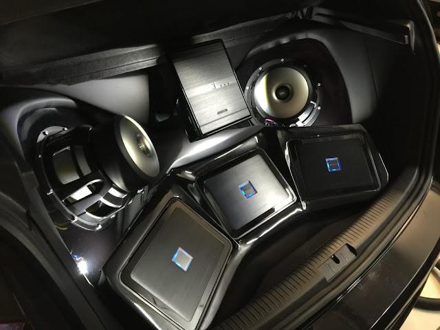 menentukan berapa banyak speaker pada mobil