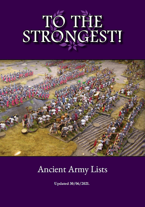 New version of the TtS! Ancient Army List eBook published