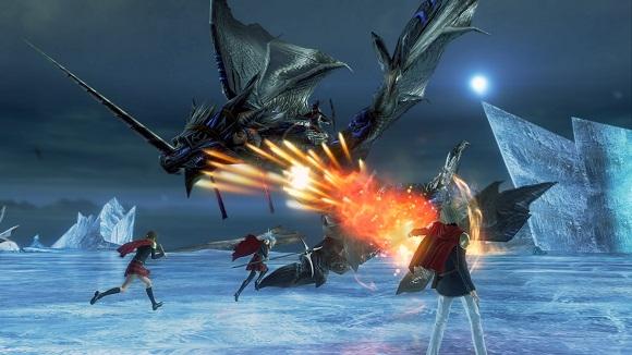 Final Fantasy Type 0 HD PC Free Download Screenshot 1