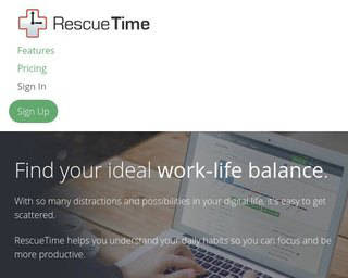 Rescue Time-best time tracking-app for business-320x256