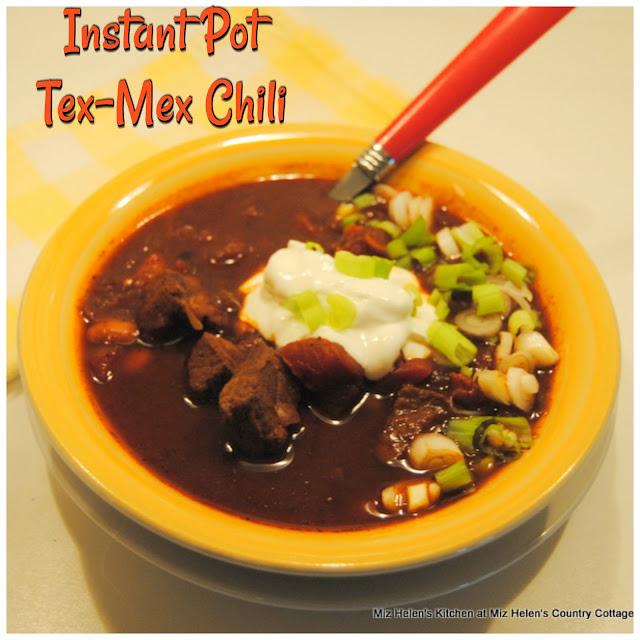 Instant Pot Tex-Mex Chili at Miz Helen's Country Cottage