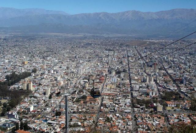 Cerro San Bernardo - Salta