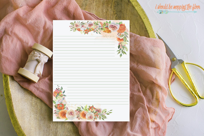 Free Printable Lined Stationery