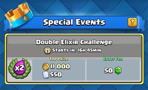 Hadiah Double Elixir Challenge