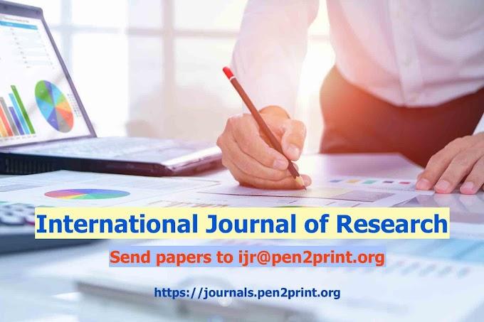 IJR - International Journal of Research