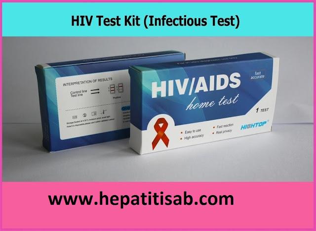 HIV Rapid Diagnostic Test Kits