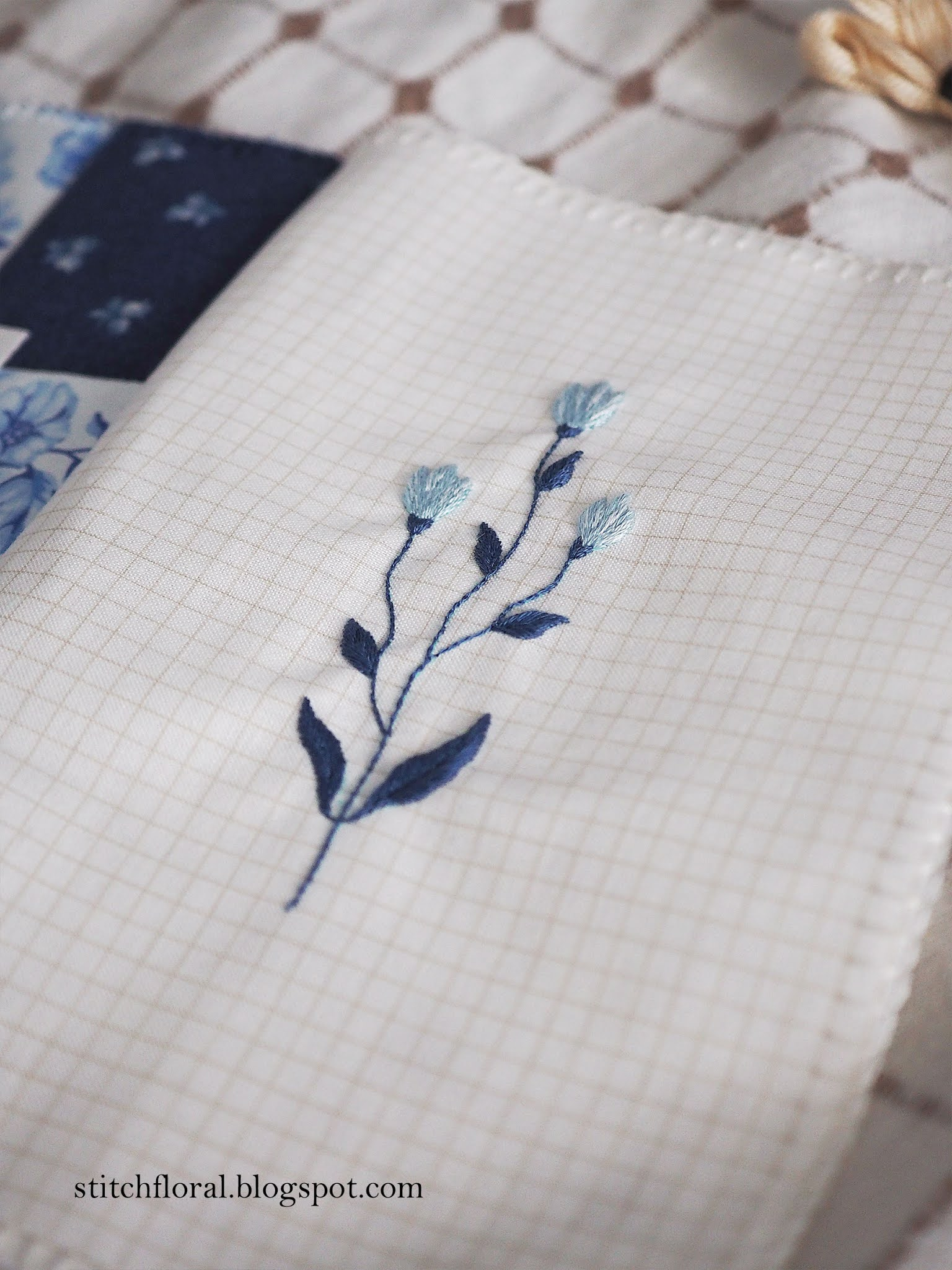 embroidery art journal