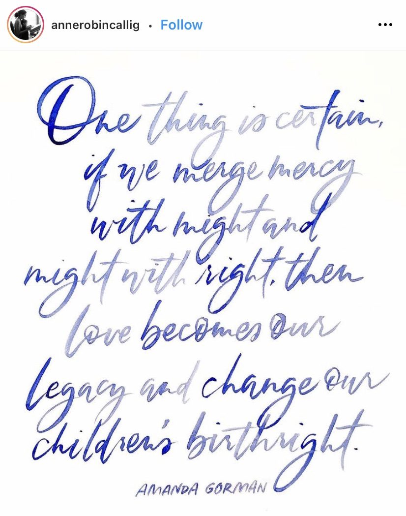 Amanda Gorman's Inauguration Poem
