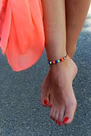 Ariela Massotti, how to make anklets with beads at home in France, best Body Piercing Jewelry