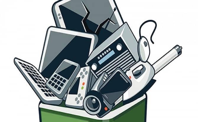 pantallas, radios, celulares, televisiones, computadoras,