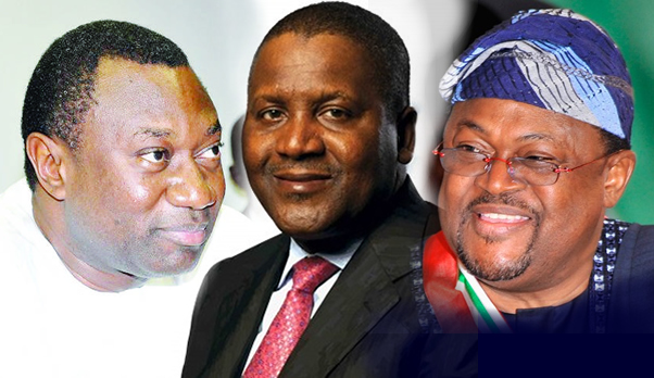 Dangote, Adenuga, Otedola, others on Forbes billionaires list