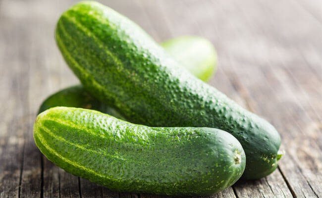 get rid of oily skin cucumber
