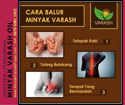 Cara Menggunakan Minyak Varash Classic