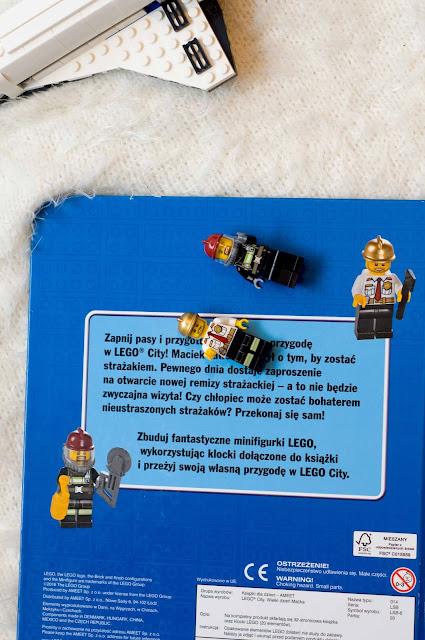Książki Lego City wydawnictwo AMEET
