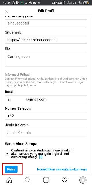 Cara Mengganti Username IG 5