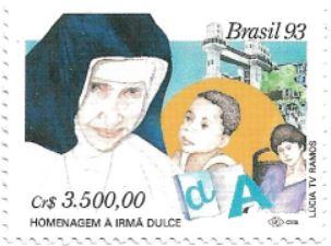 Selo Homenagem à Irmã Dulce