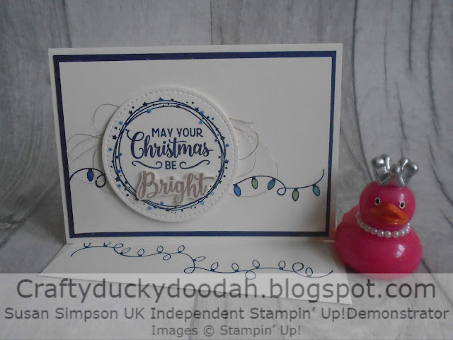Craftyduckydoodah!, Making Christmas Bright, Susan Simpson UK Independent Stampin' Up! Demonstrator, Christmas 2019, Supplies available 24/7 from my online store,