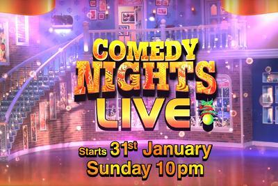 Comedy Nights Live 31 Jan 2016