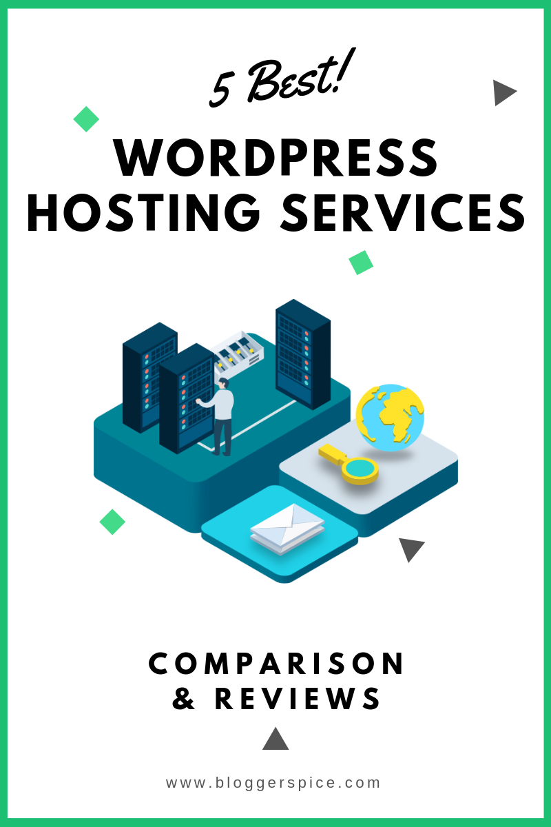 5 Best WordPress Hosting Services Comparison & Reviews