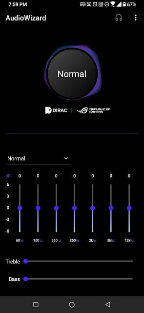 audio wizard rog phone 3