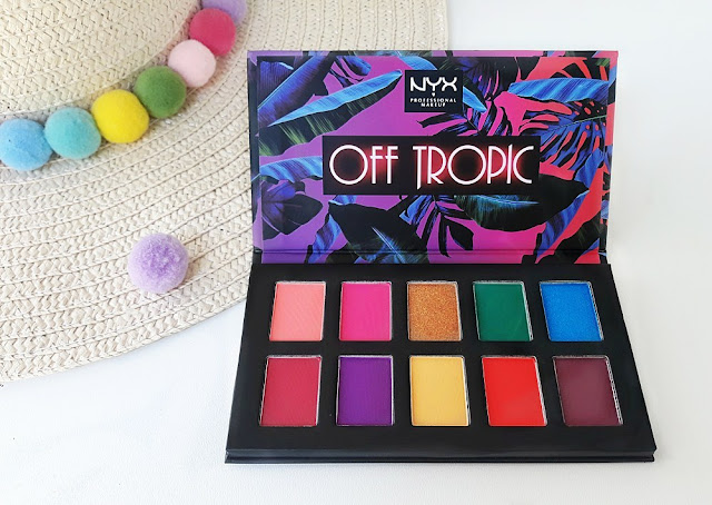 "nyx professional makeup off tropic ""hasta la vista"" paleta sjenila"