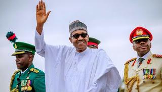 Hotunan yadda aka rantsar da Shugaba Buhari a dandalin Eagle Square da ke Abuja.