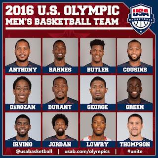 2016 US Olympic basketball team